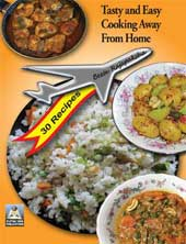 Front cover of 'Tasty and Easy Cooking Away From Home'